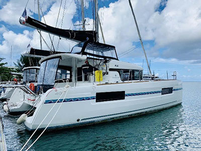 Used Sail Catamarans for Sale 2018 Lagoon 40
