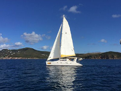 Used Sail Catamaran for Sale 2003 Leopard 47