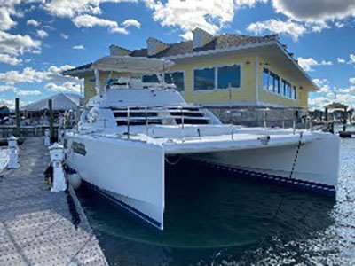 Used Power Catamaran for Sale 2009 Leopard 47 PC