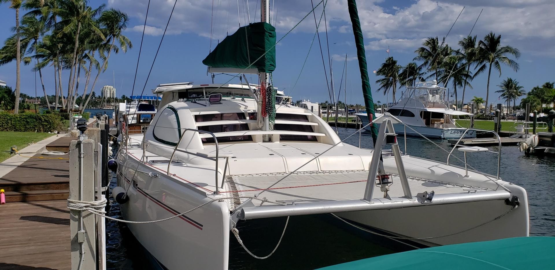 Used Sail Catamaran for Sale 2006 Leopard 40