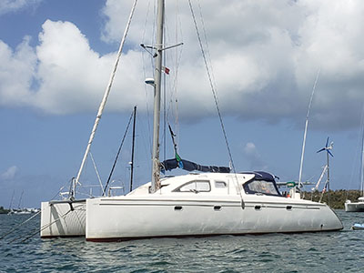 Sail Catamarans for Sale 1996 Nautitech 435