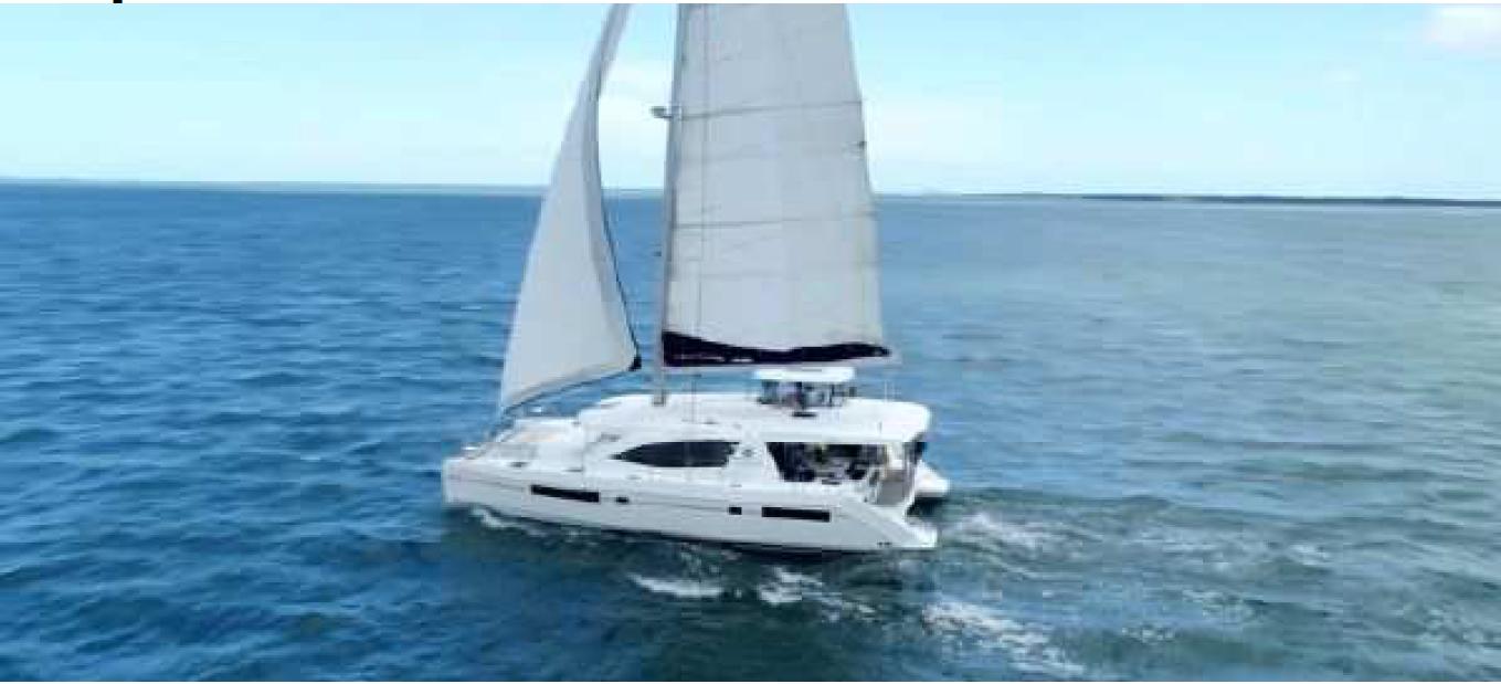 Used Sail Catamaran for Sale 2018 Leopard 48