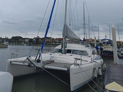 Used Sail Catamarans for Sale 1991 Antiqua 37
