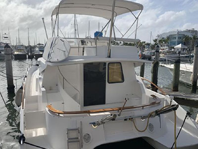 Used Power Catamarans for Sale 2004 Maryland 37