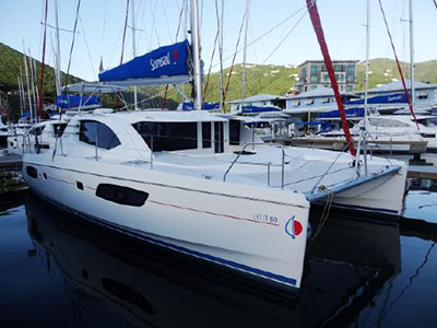Used Sail Catamaran for Sale 2015 Leopard 44