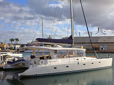 Used Sail Catamarans for Sale 2012 Voyage 520 DC