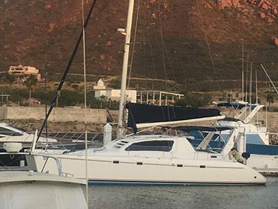 Used Sail Catamaran for Sale 1997 Leopard 45