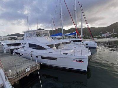 Used Power Catamaran for Sale 2018 Leopard 51PC