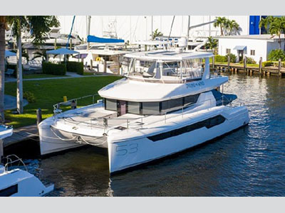 Power Catamarans for Sale 2020 Leopard 53 Powercat