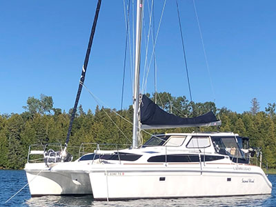 Used Sail Catamaran for Sale 2014 Legacy 35