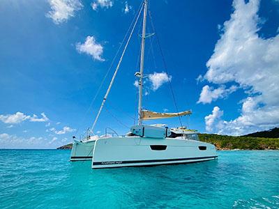 Used Sail Catamarans for Sale 2018 Saona 47