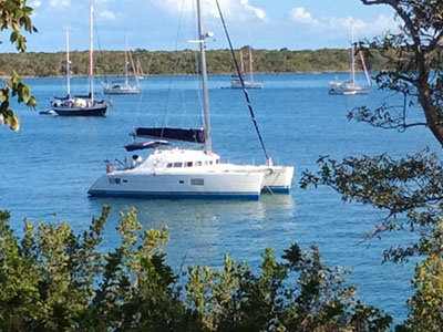 Used Sail Catamaran for Sale 2005 Lagoon 410 S2