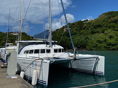 Used Sail Catamarans for Sale 2001 Lagoon 410