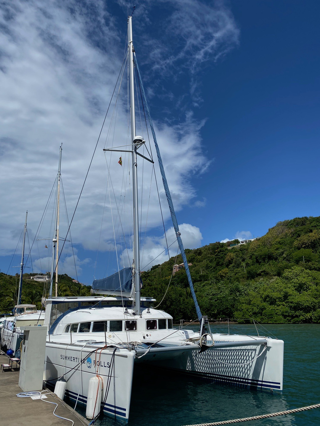Used Sail Catamaran for Sale 2001 Lagoon 410