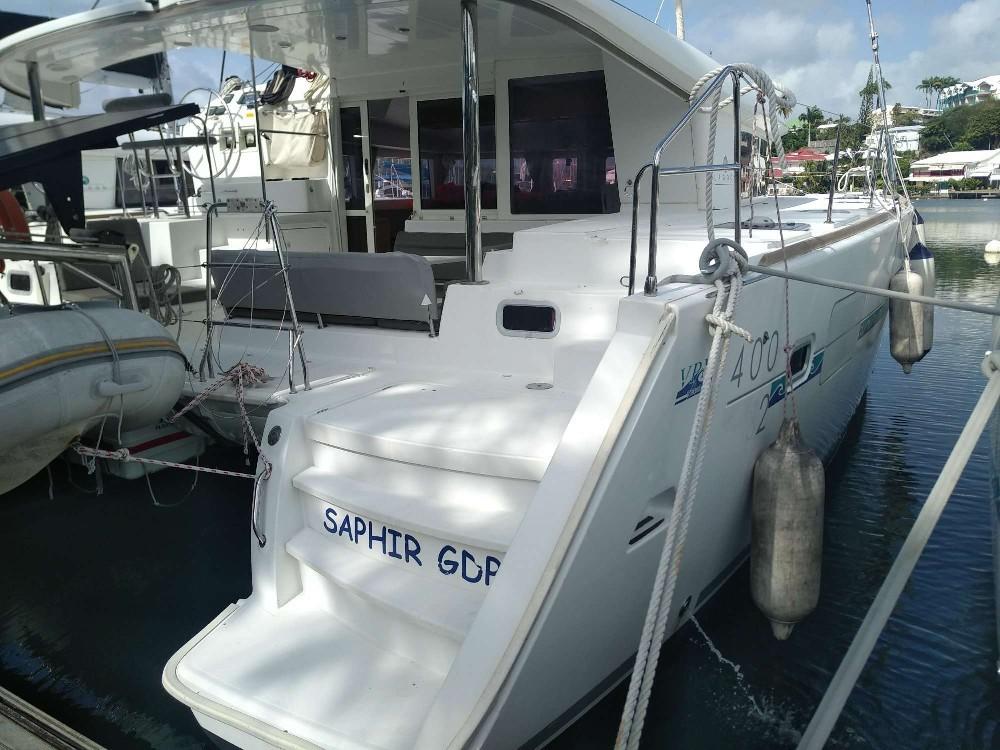 Used Sail Catamaran for Sale 2013 Lagoon 400 S2