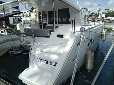 Used Sail Catamarans for Sale 2013 Lagoon 400 S2