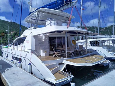 Used Sail Catamarans for Sale 2014 Leopard 58