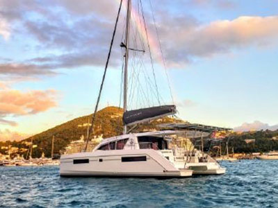 Used Sail Catamaran for Sale 2018 Leopard 40