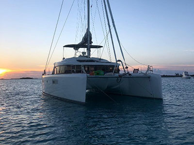 Used Sail Catamaran for Sale 2015 Lagoon 52 F