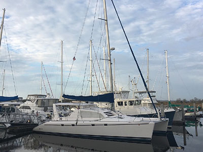 Sail Catamarans for Sale 2004 Leopard 47