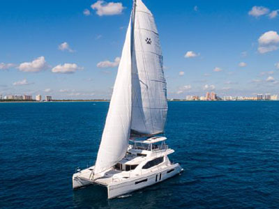Used Sail Catamaran for Sale 2019 Leopard 58