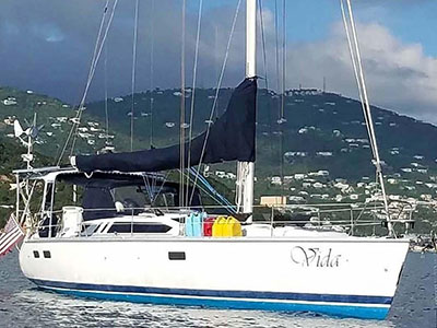 Used Sail Catamarans for Sale 1994 Legend 40.5