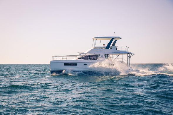 Used Power Catamaran for Sale 2016 Leopard 43 PC