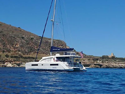 Used Sail Catamaran for Sale 2017 Leopard 40