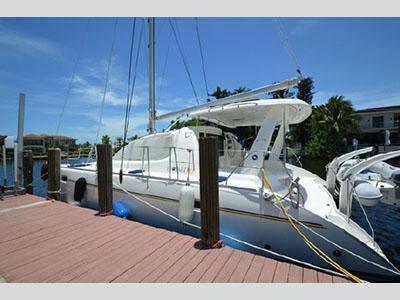 Used Sail Catamaran for Sale 2007 Leopard 40