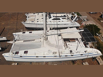 Used Sail Catamaran for Sale 1998 Outremer 64L