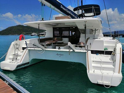 Used Sail Catamaran for Sale 2014 Helia 44