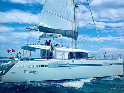 Used Sail Catamarans for Sale 2017 Lagoon 450F