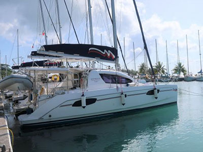 Used Sail Catamaran for Sale 2015 Leopard 39