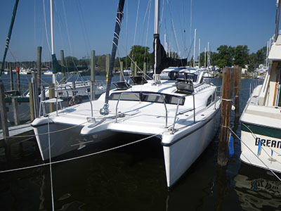 Catamarans MY PEG, Manufacturer: GEMINI CATAMARANS, Model Year: 2007, Length: 34ft, Model: Gemini 105Mc, Condition: Used, Listing Status: SOLD, Price: USD 129000