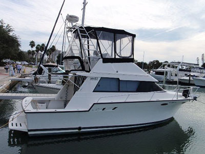 Catamarans SIR REEL, Manufacturer: LUHRS SPORTFISH, Model Year: 1993, Length: 34ft, Model: Flybridge Sedan , Condition: Used, Listing Status: Monohull for Sale, Price: USD 29000