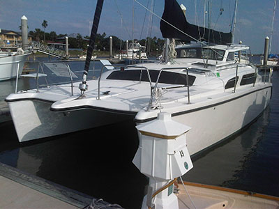 Catamarans HULL 1106, Manufacturer: GEMINI CATAMARANS, Model Year: 2011, Length: 34ft, Model: Gemini 105Mc, Condition: New, Listing Status: SOLD, Price: USD 197655