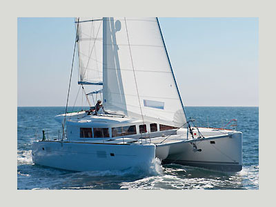Catamaran for Sale Lagoon 450 F  in Belleville France BROCHURE-LAGOON 450 F  Brochure Sail