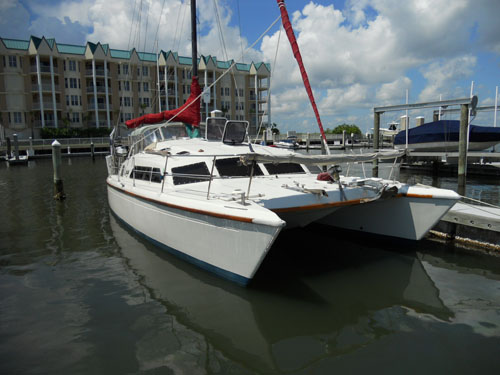Preowned Sail Catamarans for Sale 1986 Prout 37