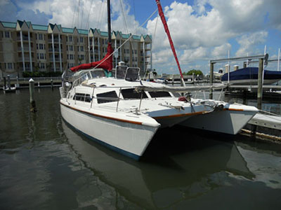 Catamarans KAYA, Manufacturer: PROUT, Model Year: 1986, Length: 37ft, Model: Prout 37, Condition: Used, Listing Status: SOLD, Price: USD 65000