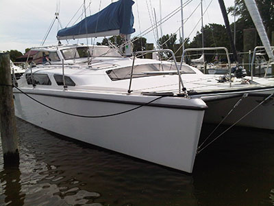 Catamarans LARK ASCENDING, Manufacturer: PERFORMANCE CRUISING, Model Year: 2010, Length: 34ft, Model: Gemini 105Mc, Condition: Used, Listing Status: SOLD, Price: USD 169000