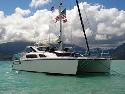 Catamarans MAKILI KAI, Manufacturer: PERFORMANCE CRUISING, Model Year: 2007, Length: 34ft, Model: Gemini 105Mc, Condition: Used, Listing Status: SOLD, Price: USD 125000