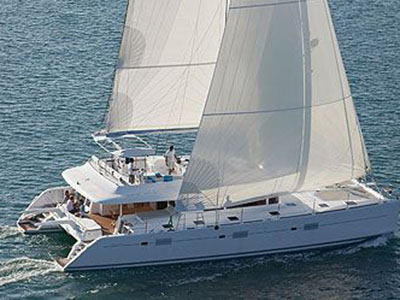 SOLD Lagoon 620   in Le Marin France MAEVIE  Preowned Sail