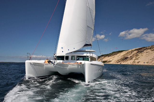 Catamarans SHREK, Manufacturer: LAGOON, Model Year: 2008, Length: 42ft, Model: Lagoon 420, Condition: Used, Listing Status: Catamaran for Sale, Price: USD 389000