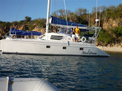 Catamarans ISLAND DREAMS, Manufacturer: MANTA, Model Year: 2006, Length: 42ft, Model: Manta MK II, Condition: Used, Listing Status: SOLD, Price: USD 325000