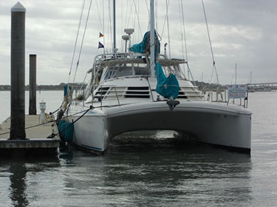 Catamarans EMERALD DREAM, Manufacturer: MANTA, Model Year: 2004, Length: 42ft, Model: Manta MK II, Condition: Used, Listing Status: SOLD, Price: USD 368000