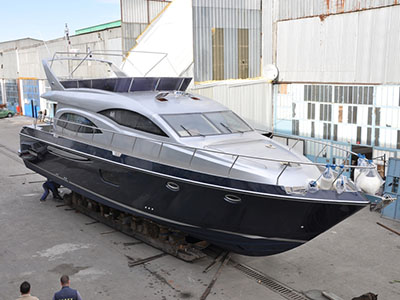 SOLD Custom  in Istanbul Turkey SANDORF 62  Preowned Power