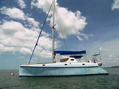 Catamarans SHEARWATER, Manufacturer: CATANA, Model Year: 1995, Length: 41ft, Model: Catana 411, Condition: Used, Listing Status: SOLD, Price: USD 197500