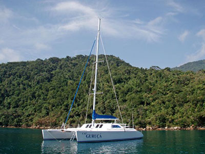 SOLD Custom 62  in Rio de Janiero Brazil CAT GURUCA  Preowned Sail