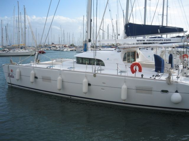 Catamarans MALA, Manufacturer: LAGOON, Model Year: 2008, Length: 57ft, Model: Lagoon 570, Condition: Used, Listing Status: Catamaran for Sale, Price: EURO 700000