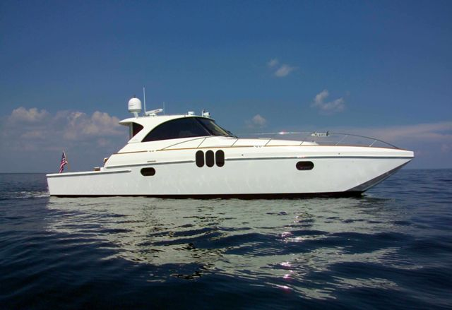 Preowned Power Catamarans for Sale 2011 Enclosed Helm 53